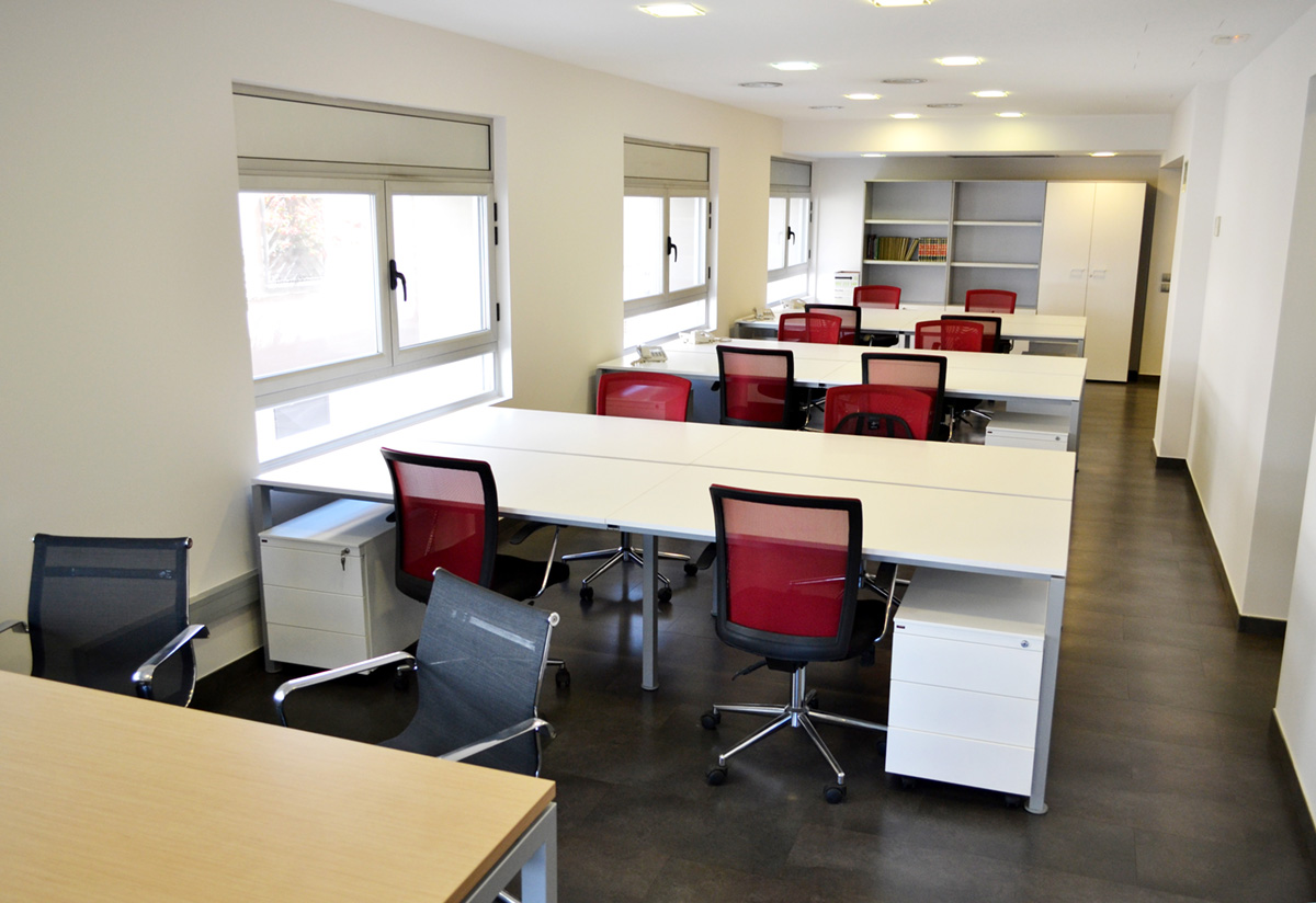 Cèntric espai de treball